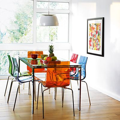 Buy John Lewis Frost Dining Table And Gel Chairs Online At JohnLewis