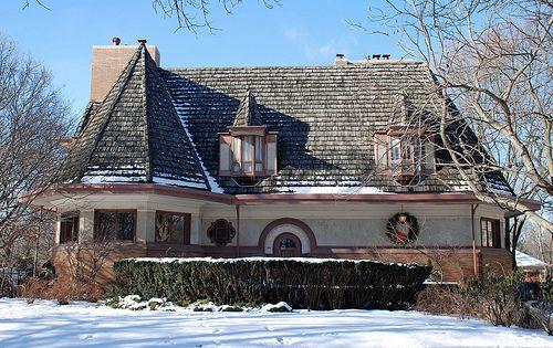 Chauncey Williams House (1895) by Frank Lloyd Wright