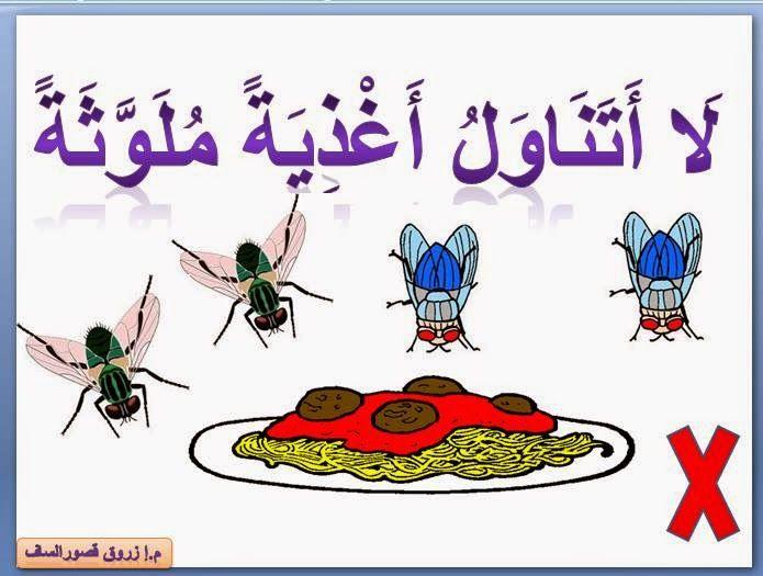 معلقات قواعد حفظ الصحة للدرجة الأولى Arabic Worksheets Cards Blog Posts