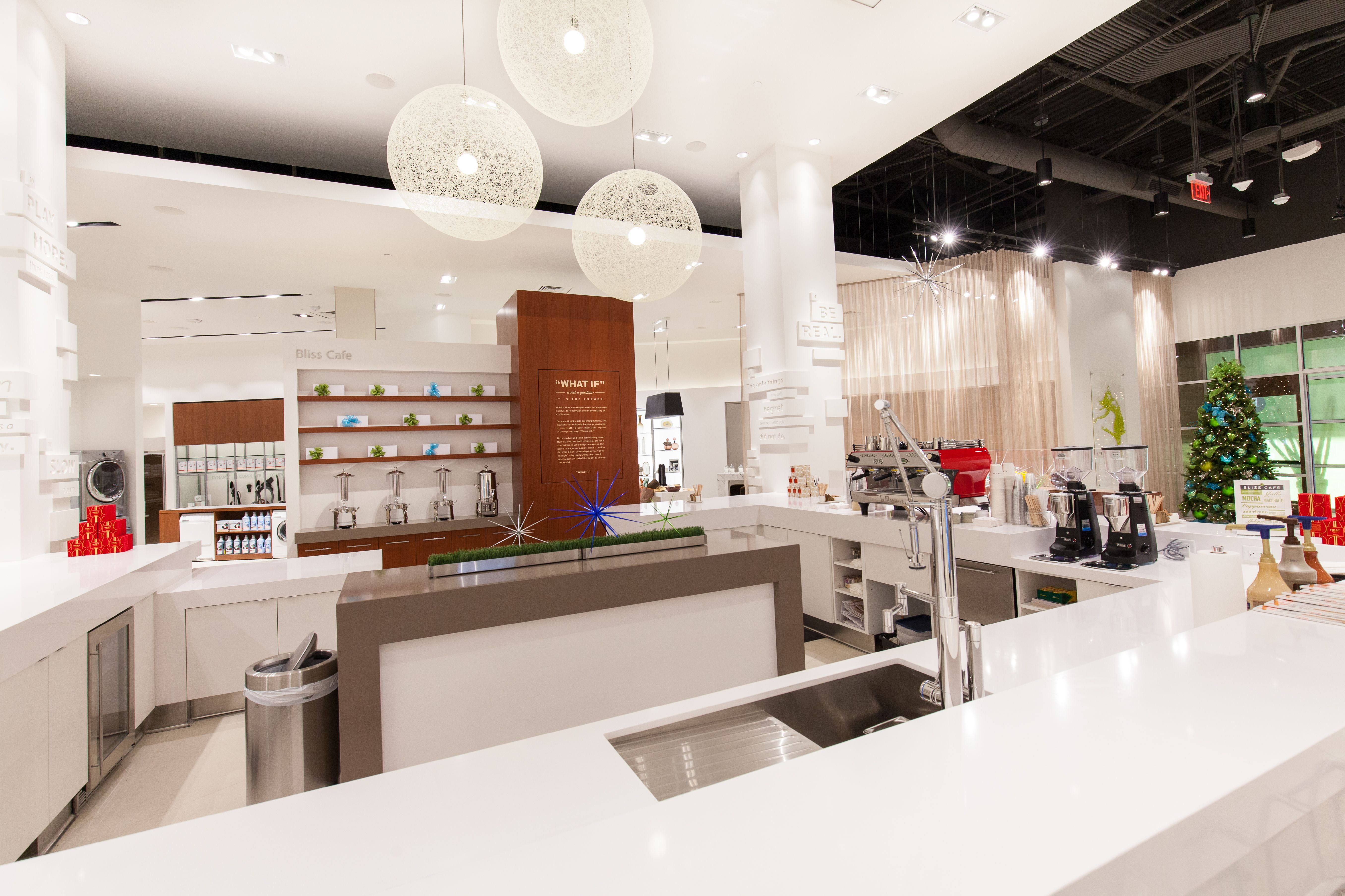 Bliss cafe at pirch atlanta here is where customer are for Pirch atlanta