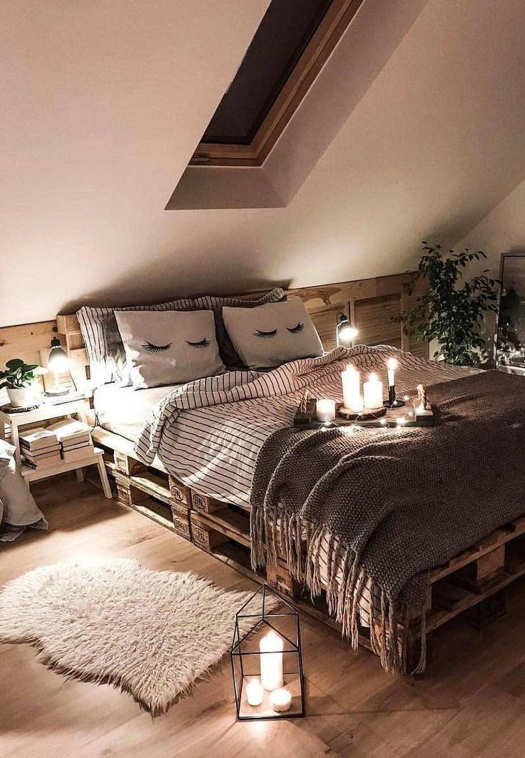 39+ Trends und Ideen für kleines und stilvolles Schlafzimmerdesign im Jahr 2019, #designdell...