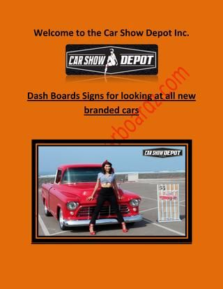 New Supporting Vendor Car Show Depot Streetroddingcom Forum - Car show vendor ideas