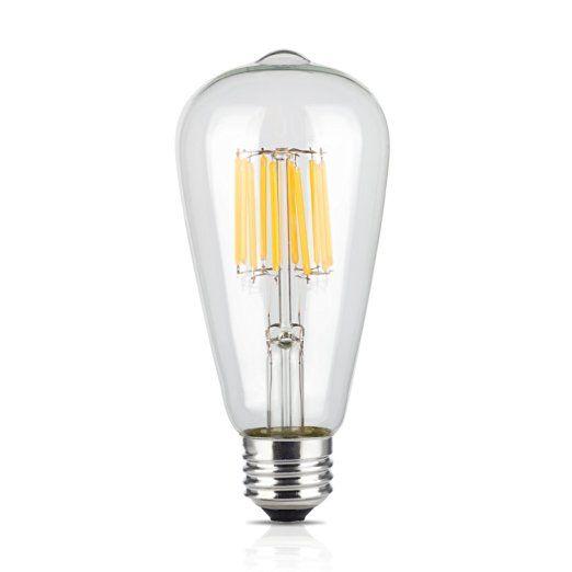 Tamaykim St64 10w Antique Edison Style Led Filament Light Bulb 2700k Warm White 1000lm E27 Base Lamp Filament Bulb Lighting Filament Bulb Cheap Light Bulbs