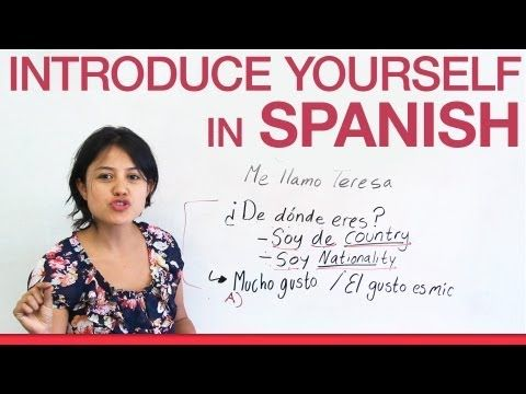 Spanish for beginners i will teach you every single letter and start a basic conversation in spanish now want to introduce yourself the way native spanish speakers do solutioingenieria Image collections