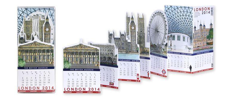 LONDON · Pocket Calendar