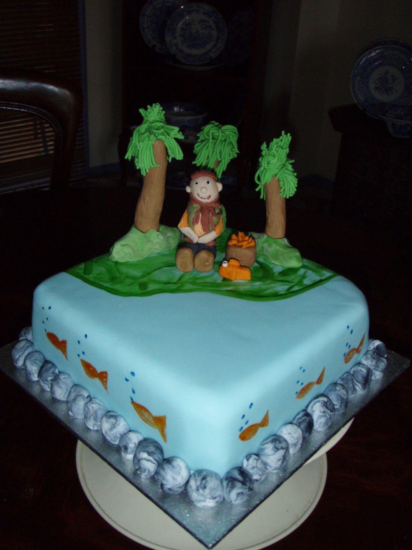 FishingBirthdayCakesforMen fishing 80th birthday cake Books