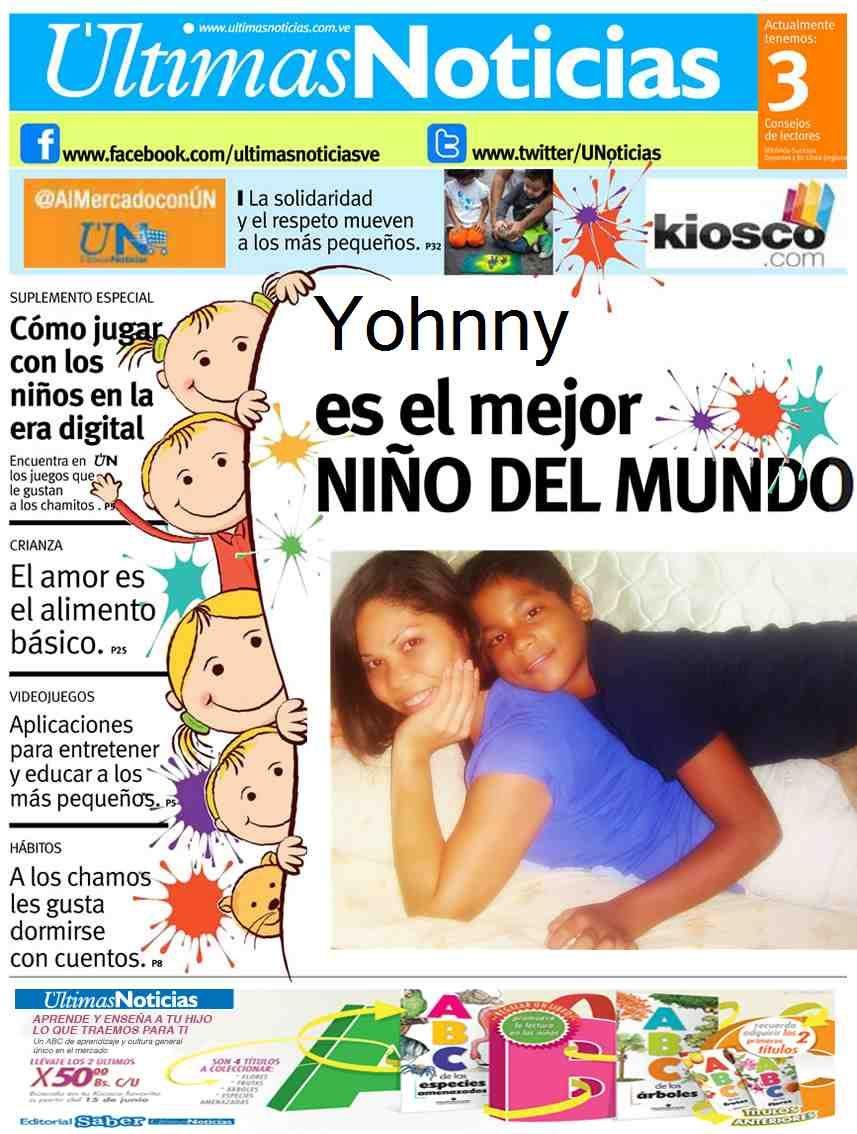 Yohnny dia del niño