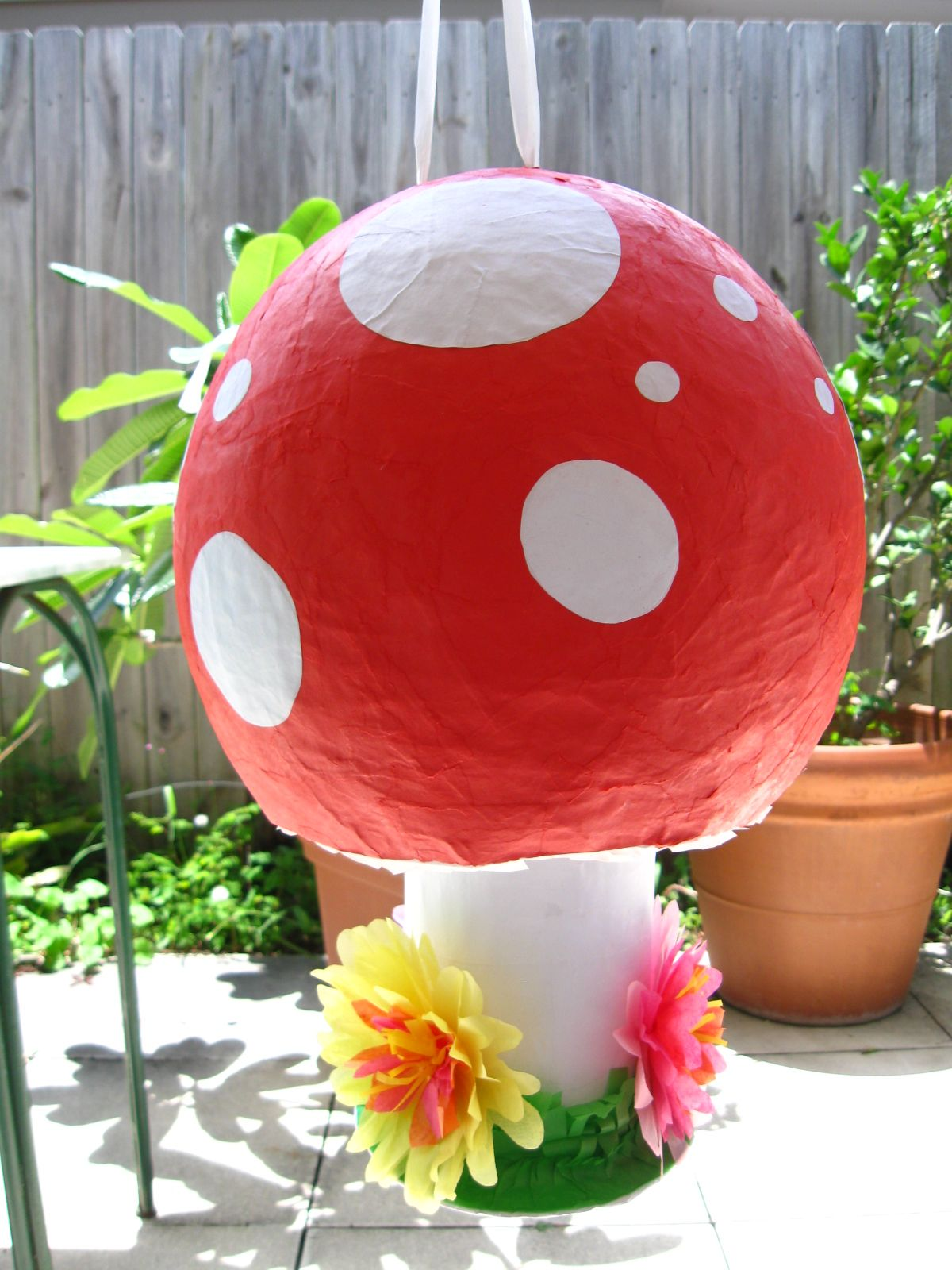 This Mushroom Pinata Was A Special Request The Paper Tarts