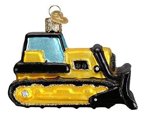 Hallmark tonka giant bulldozer truck christmas ornament ebay