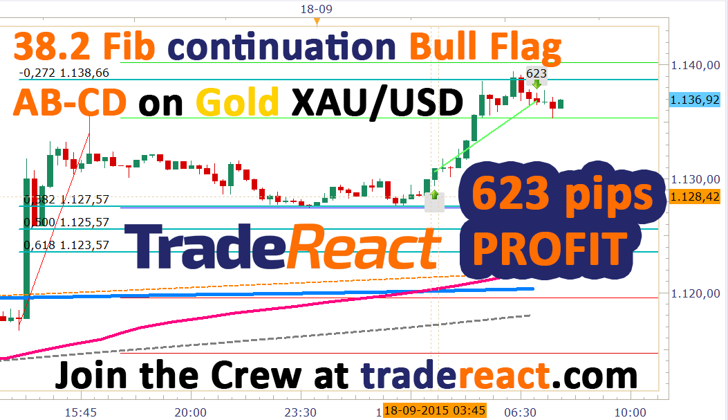 Trade explained. After a slight pullback in the Tokyo session. The bulls took action on Gold and stepped in to…