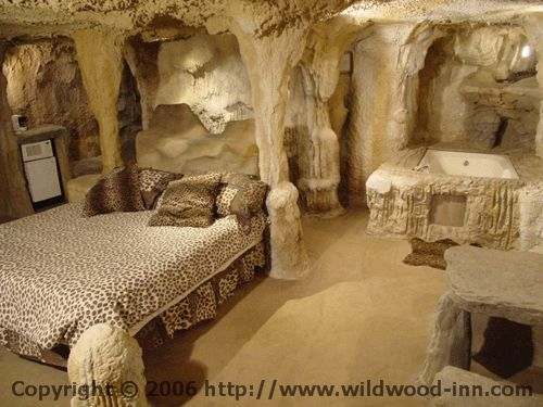 Wildwood Inn Setup To Look Like The Carlsbad Caverns In New Mexico