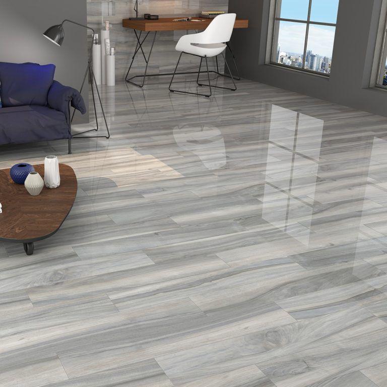porcelain tile floor living room