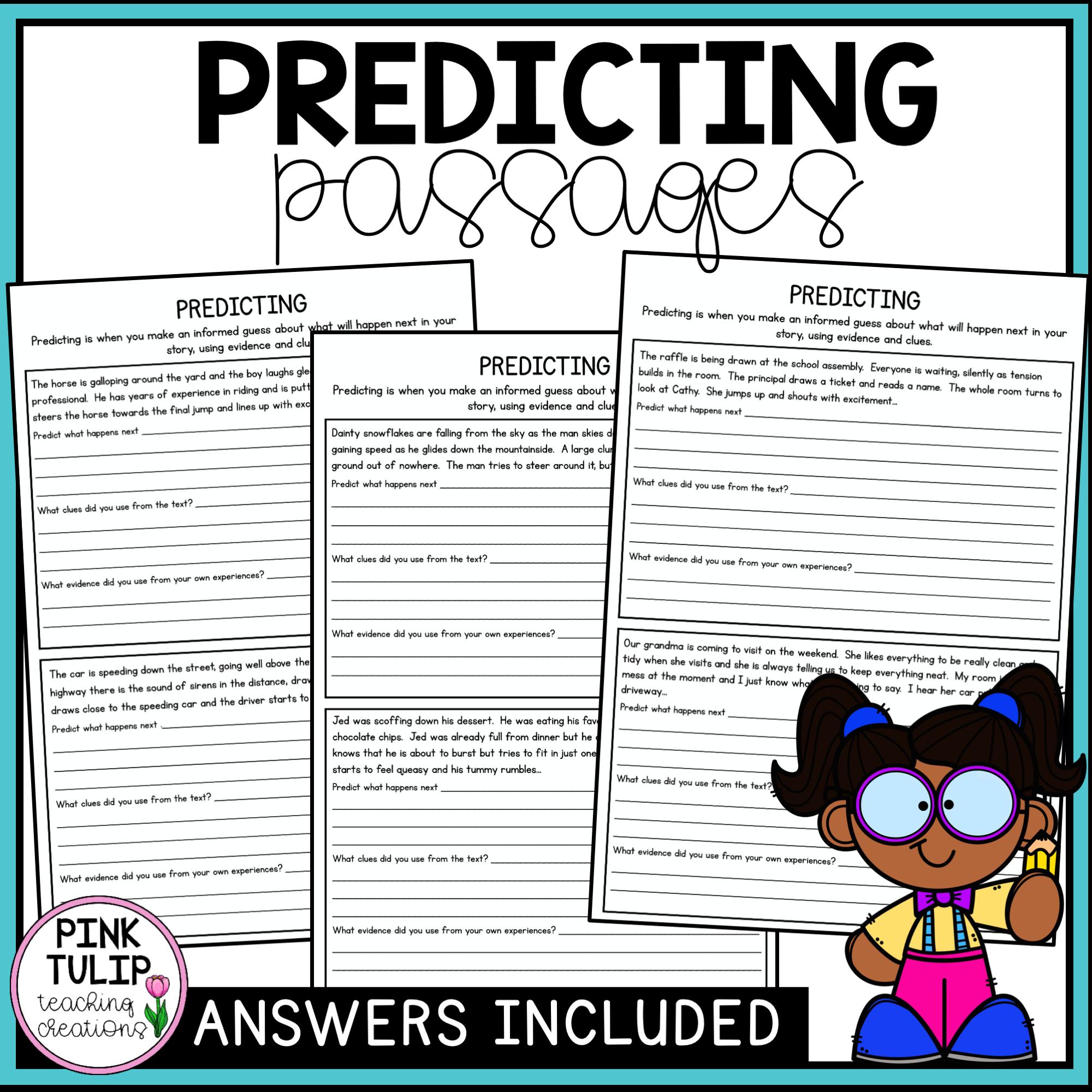Predicting Worksheets