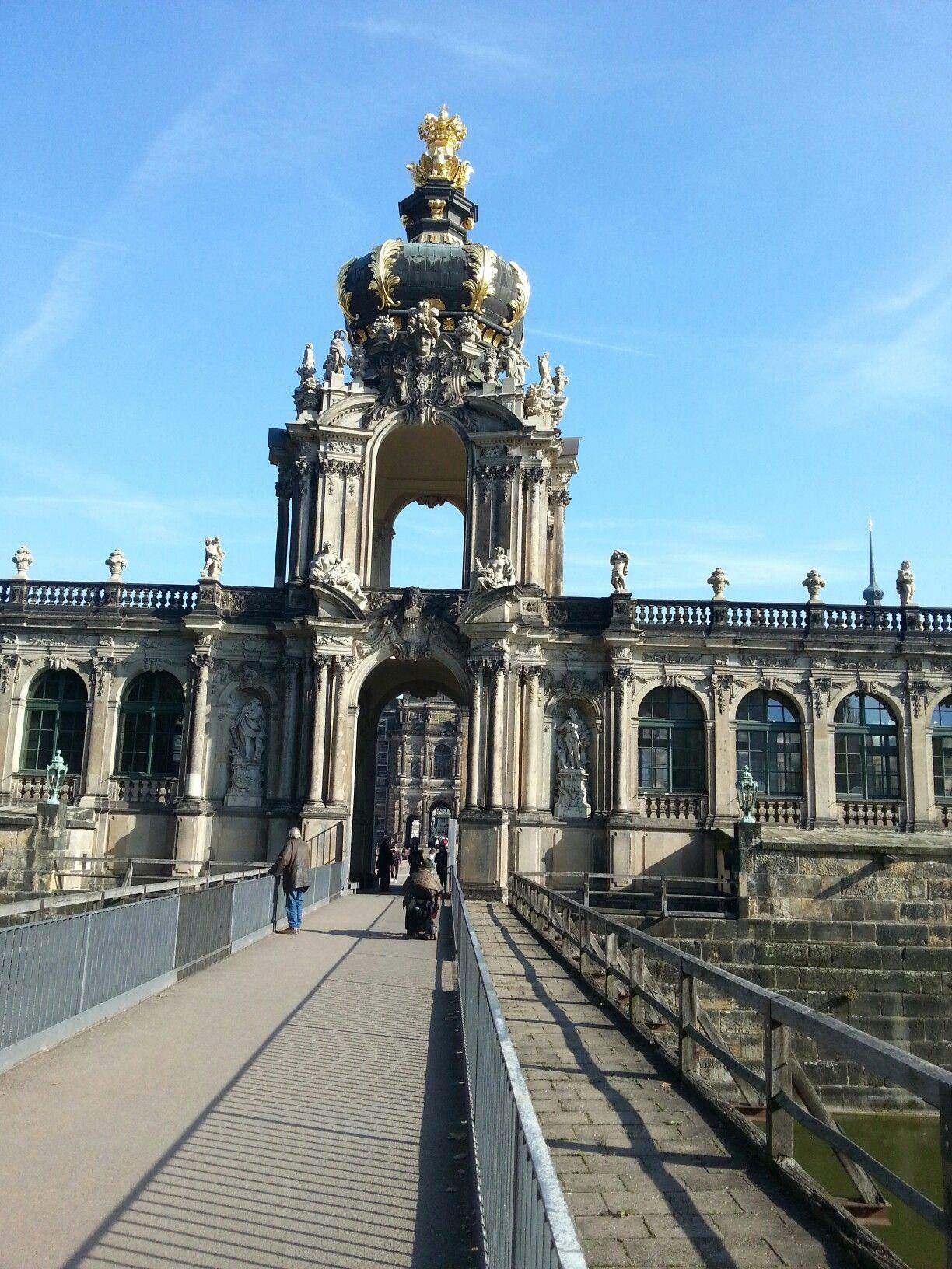 Dresden Zwinger Oktober 2017 Germany Dresden Europe