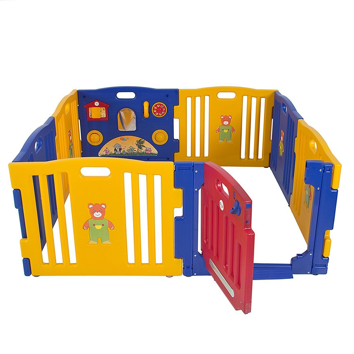 High Quality Baby Playpen Kids 8 Panel Safety Play Center Yard Home Indoor Outdoor New  Pen