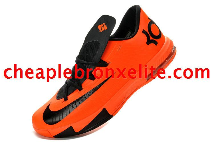 Kevin Durant 6 Total Orange Armory Slate Team Orange Black 599424 800