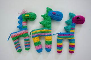 Amigurumis Caballitos A Crochet : Caballitos amigurumi by lanaynay nuevos jiraballos amigurumi