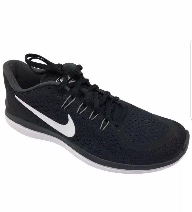 0c7a00dfa36eb Nike Flex RN 2017 Running Shoe Men s Size 11.5 Black White New  Nike   RunningShoes