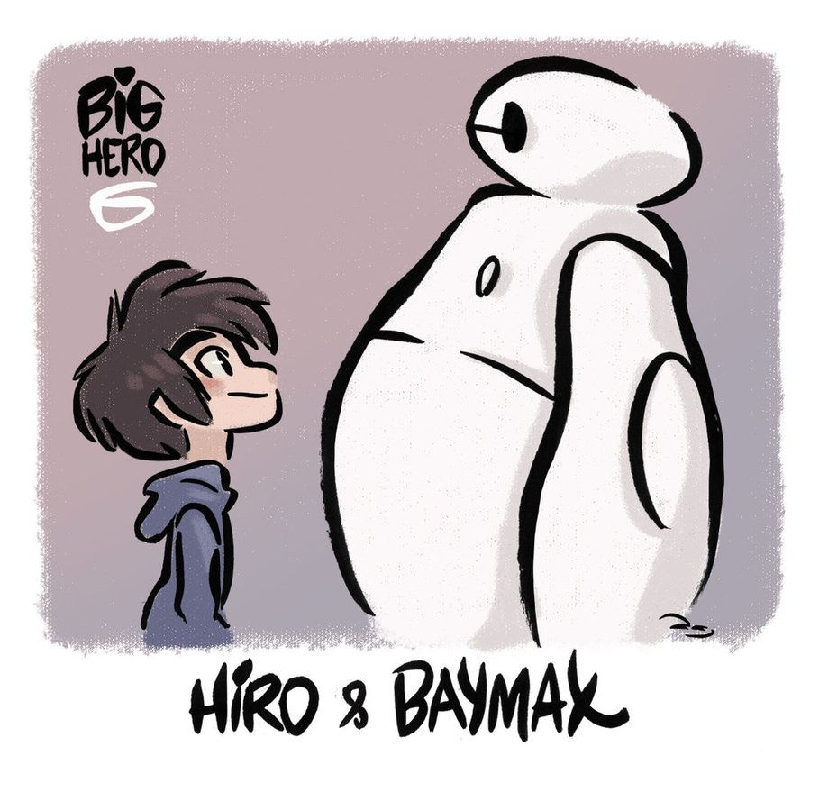 Big Hero 6 - Hiro and Baymax by princekido on deviantART