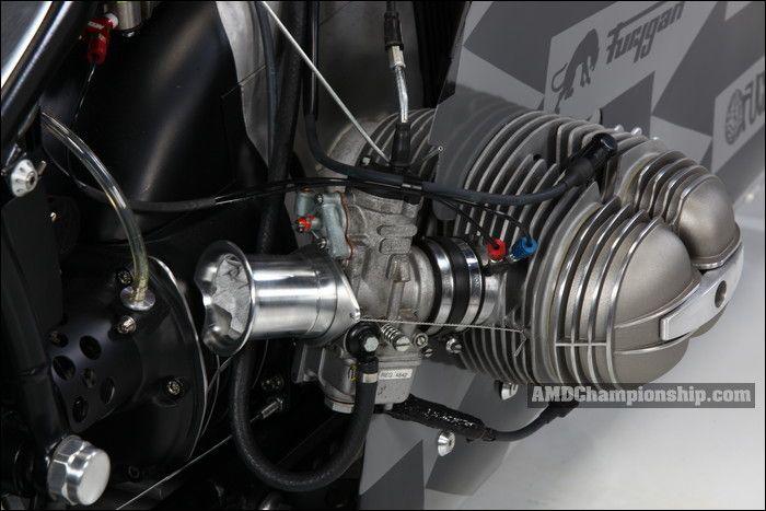 AMD World Championship, The Lucky Cat Garage, bike details & gallery