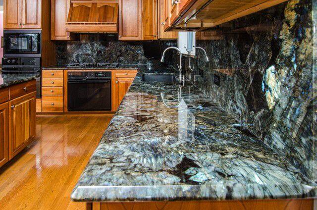 Labradorite Kitchen Love Labradorite Blue Granite