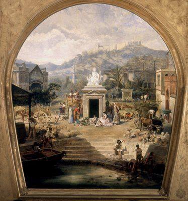 Techo del Teatro Cervantes MALAGA-SPAIN