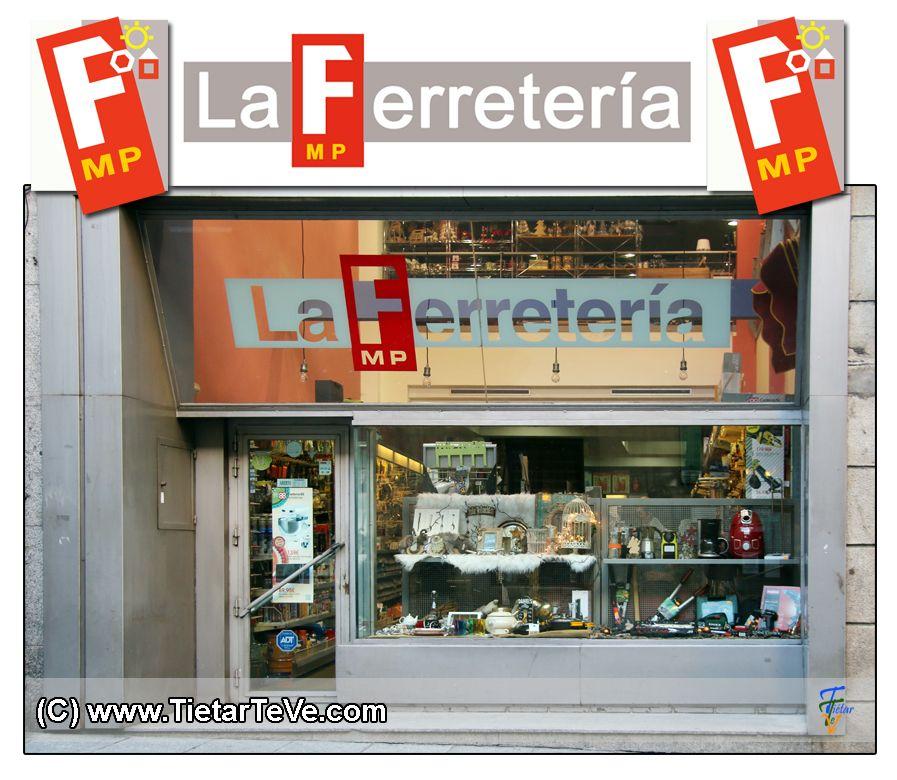 Fachada La Ferretería MP de Arenas de San Pedro - TiétarTeVe
