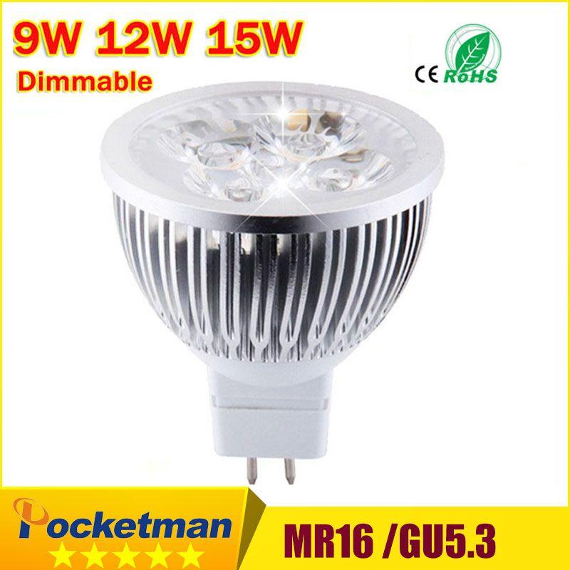 Warenhuizen Ali Express High Lumen Cree Mr16 Gu5 3 Led Spot Light Lamp 12v 220v 110v 9w 12w 15w Led Spotlight Spotlight Lamp Spotlight Bulbs Led Spotlight