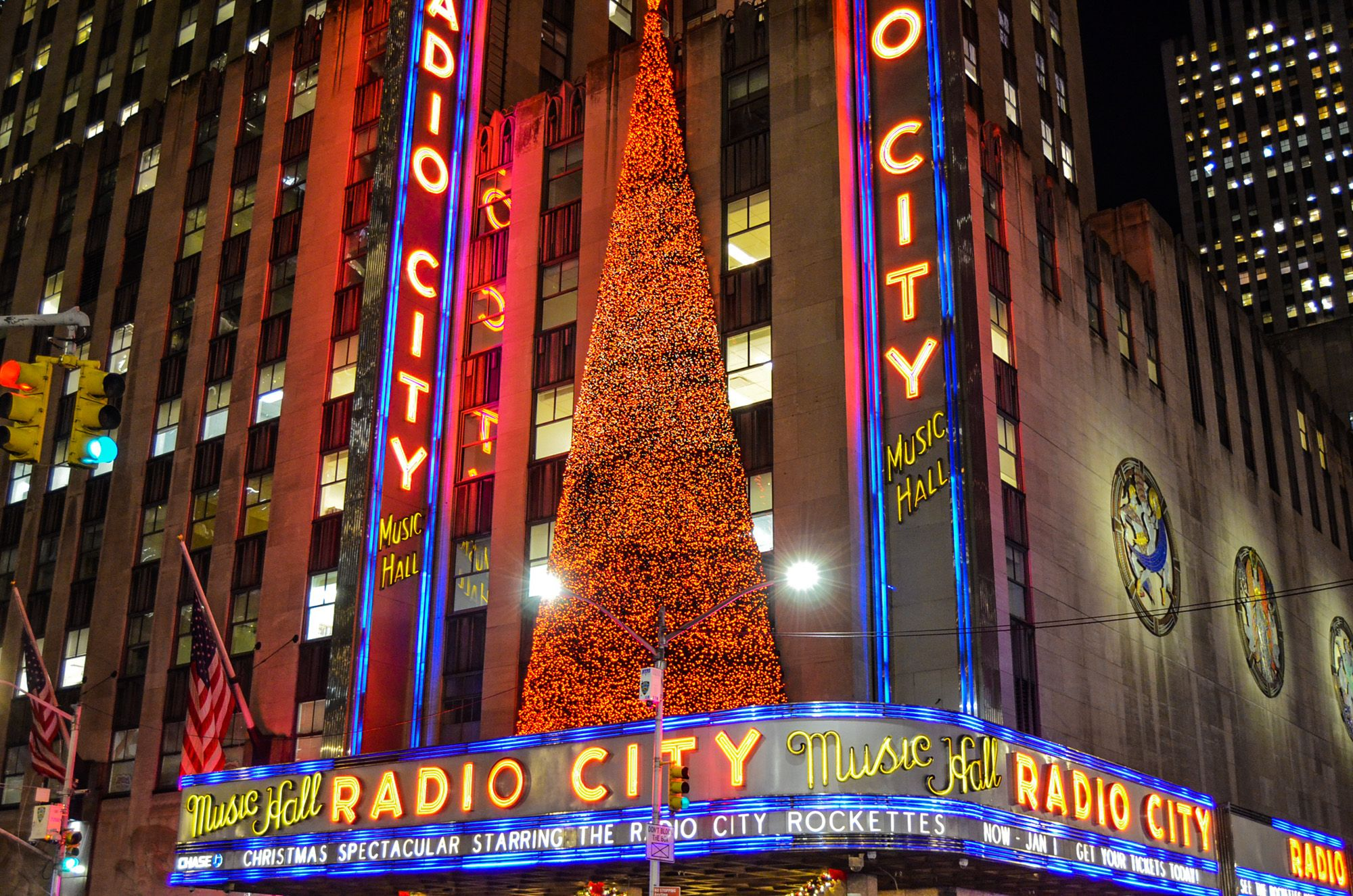 Radio City Hall Music, Ruta andando por Manhattan
