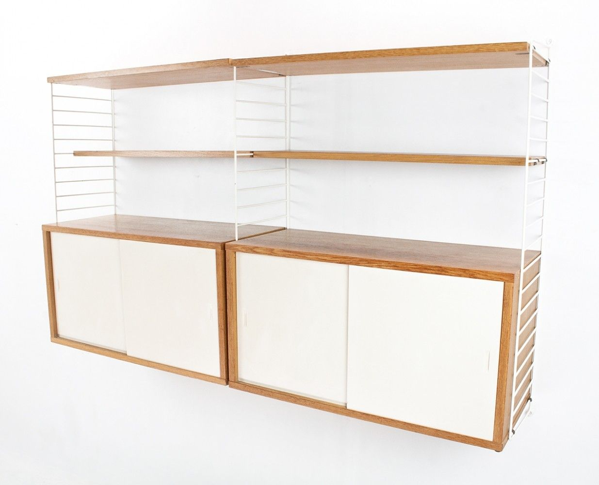 String wall unit from the sixties by Nils Strinning for String Design AB