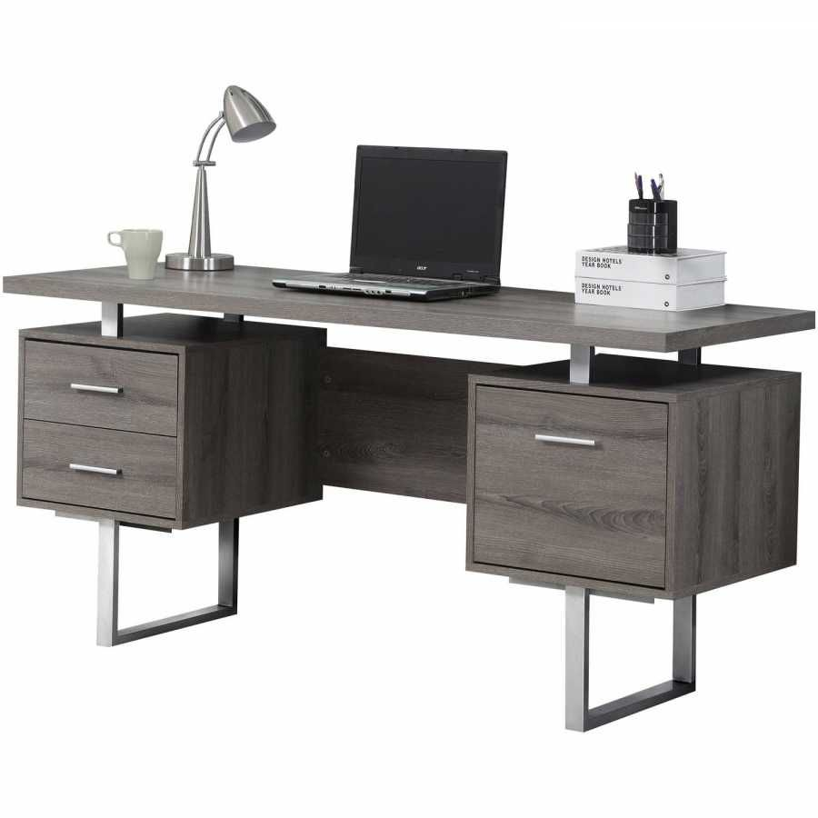 Metal Computer Desk Specs And Review Ikea Storage Meja