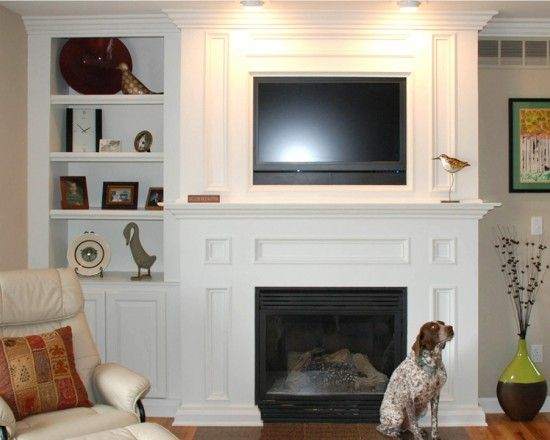 Tv over fireplace design pictures remodel decor and ideas page also best bonus media playroom images on pinterest corner rh