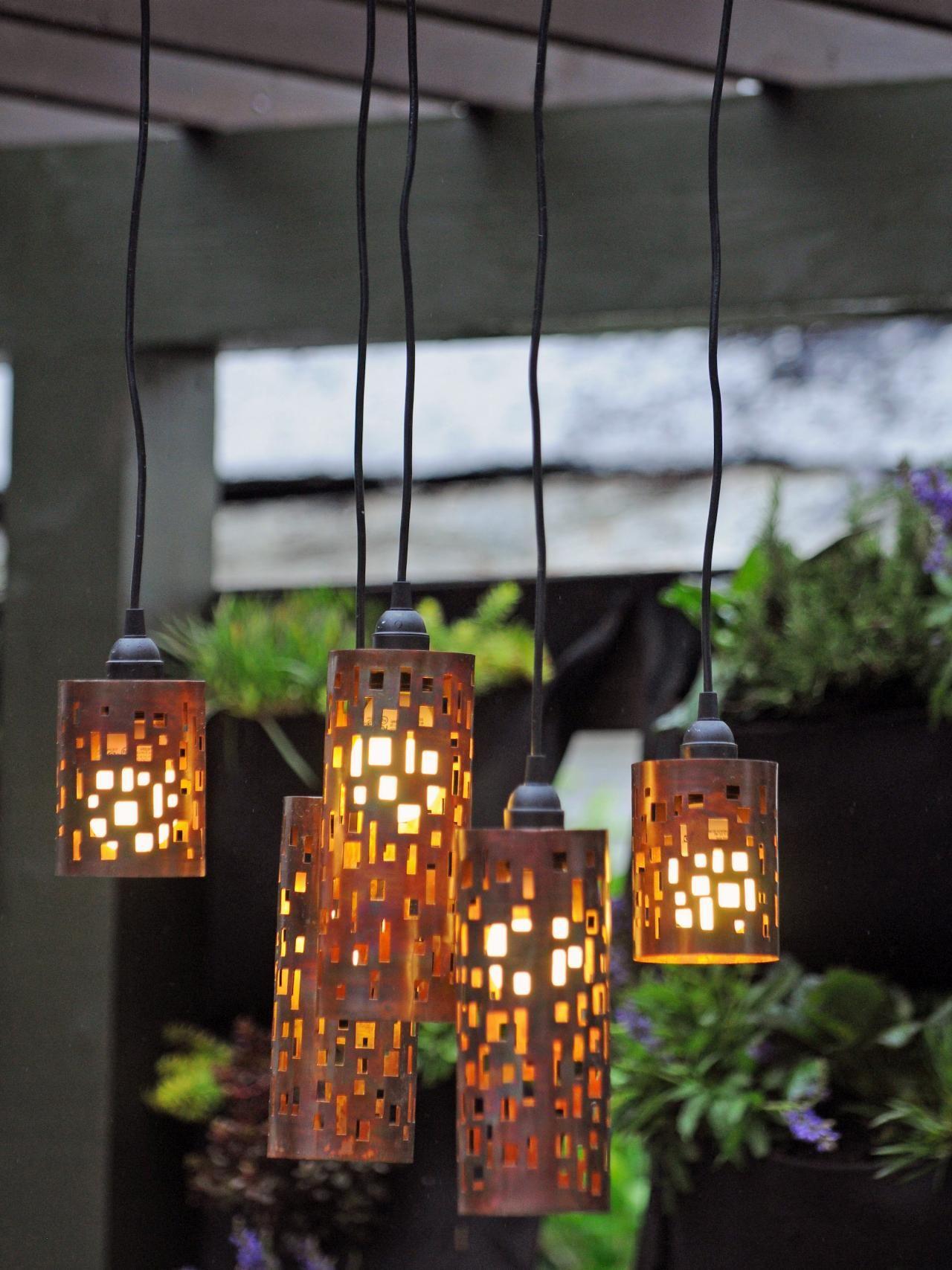 Homemade Sparkle: 12 Awesome DIY Garden Light Ideas   Diy