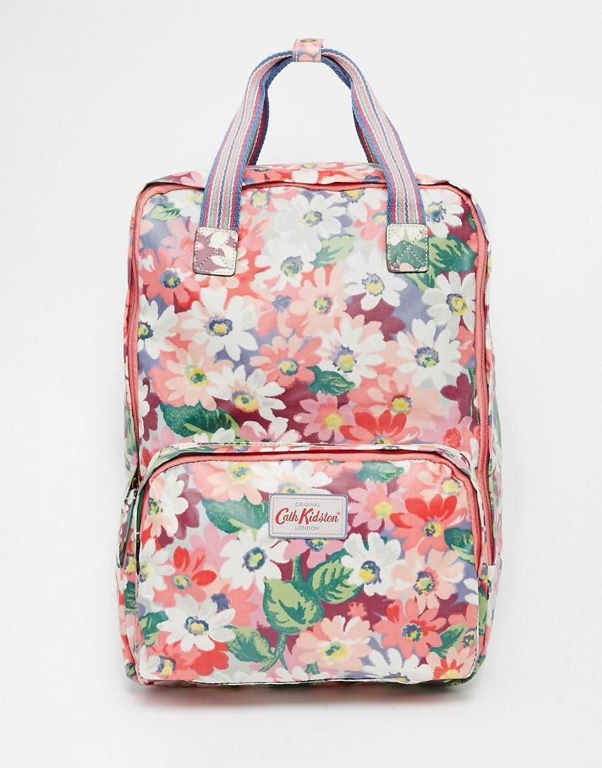 31520a63b3896 Cath Kidston | Cath Kidston Backpack - Matt Coated at ASOS ...