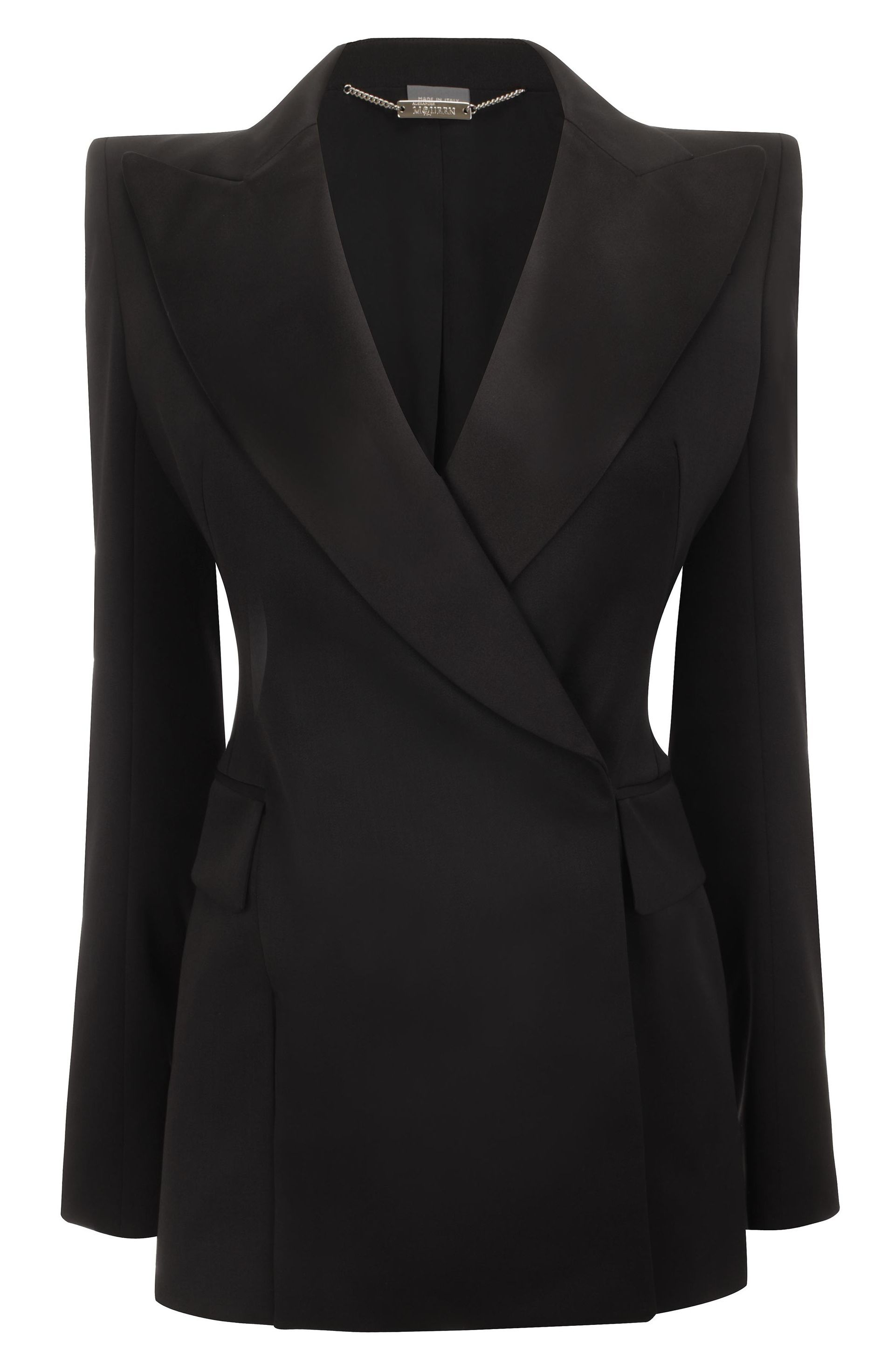 Alexander Mcqueen Woman Wool And Silk-blend Peplum Tuxedo Blazer Black Size 40 Alexander McQueen Cheap Sale Get To Buy Cheap Best With Mastercard Sale Online Outlet Low Cost Best Sale Sale Online mUaLPZM