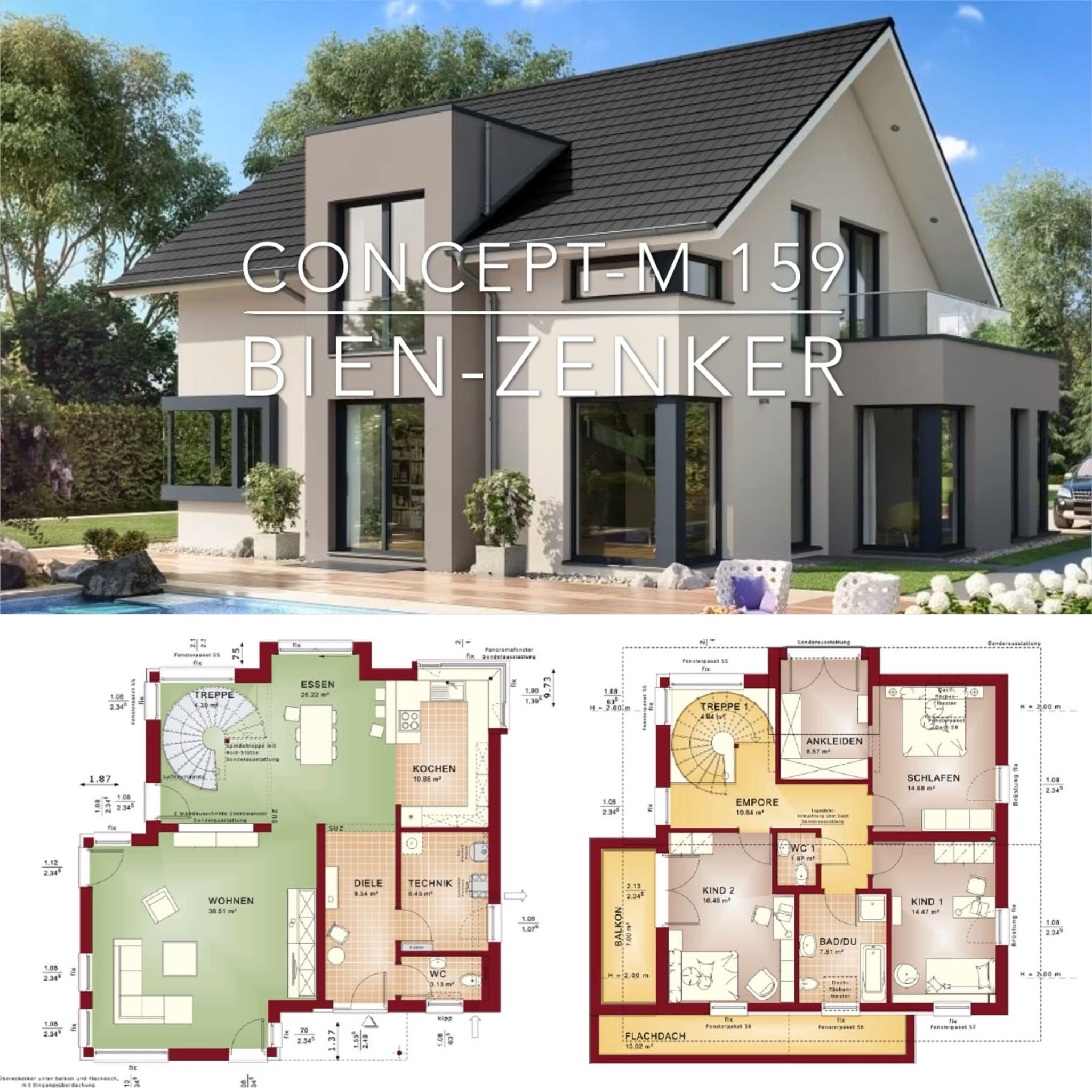 Modern European Villa Architecture House Plan & Interior Design – Popular House Plans