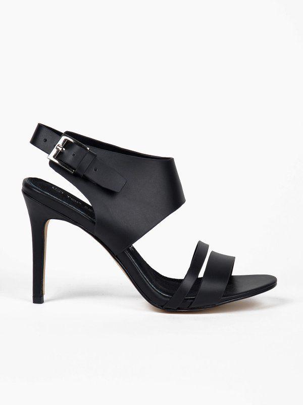 Buty Damskie Czarne Sbu0424 Szpilki Top Secret Odziezowy Sklep Internetowy Top Secret Heels Shoes Peep Toe