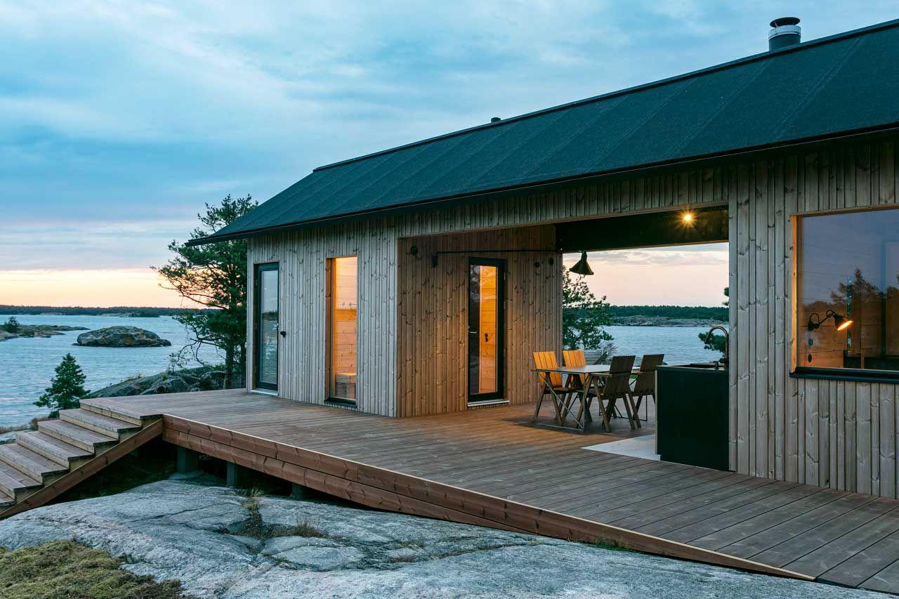 Project Ö Is a Self-Sustaining Cabin in the Finnish Archipelago - Design Milk