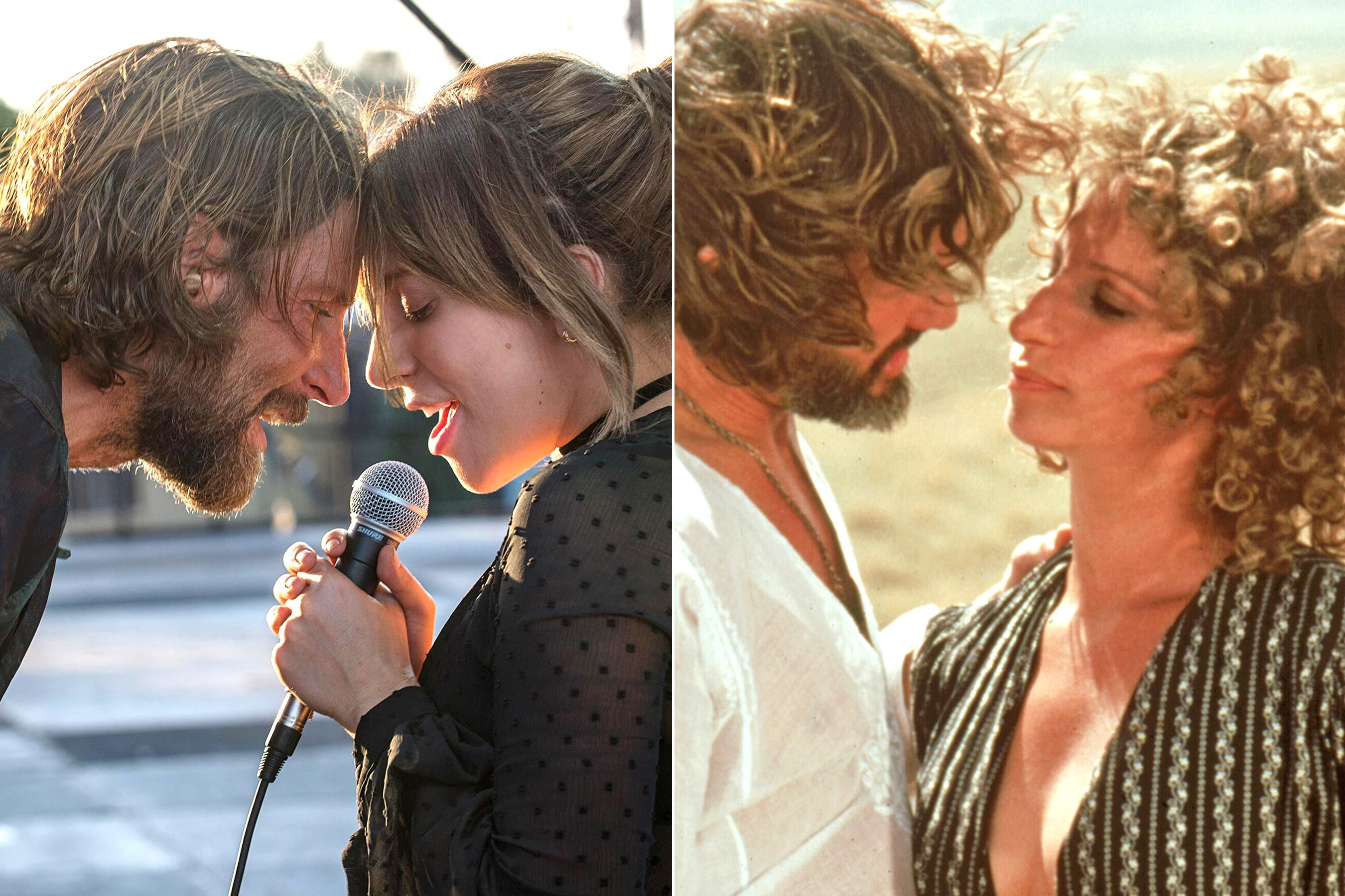 Barbra Streisand And Kris Kristofferson Visited The Set Of A Star Is Born A Star Is Born Kris Kristofferson Children Kris Kristofferson
