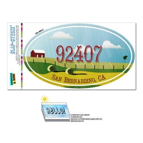 92407 San Bernardino Ca Farm Rural Oval Zip Code