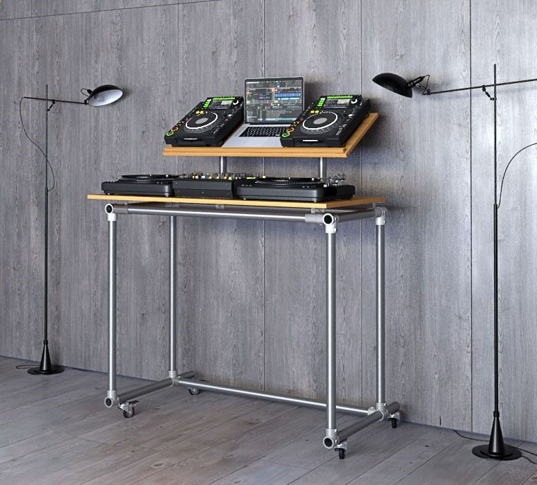 dj tisch selber bauen anleitung in 2019 dj equipment for sale home studio desk dj table