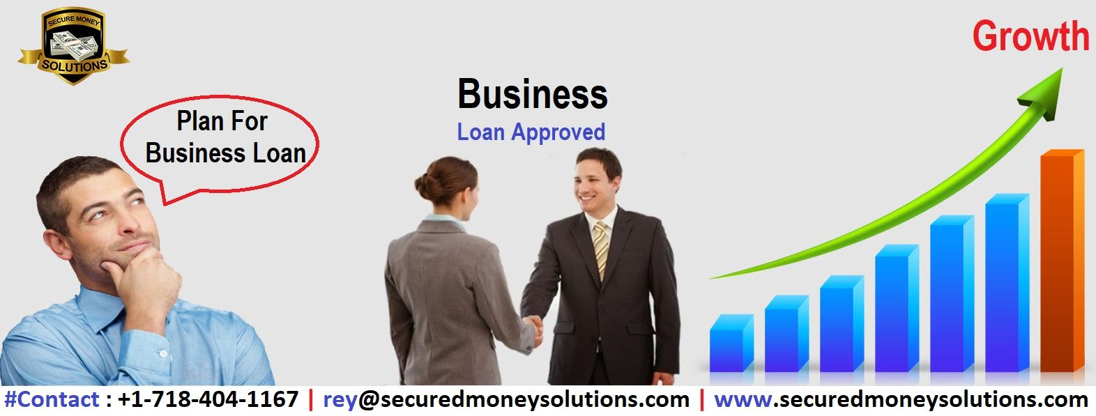 When Banks Say No We Say Yes Secured Money Solutions Is Offering Online Business Loan Services So You Can Ea Business Loans Online Business Business Planning