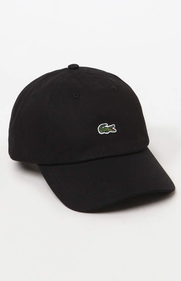 Lacoste Small Croc Strapback Dad Hat in 2019  0f96d20c7f7a