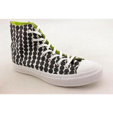 I wantz! Converse Chuck Taylor All Star Premium Hi Top Black/White 537171C Womens 8