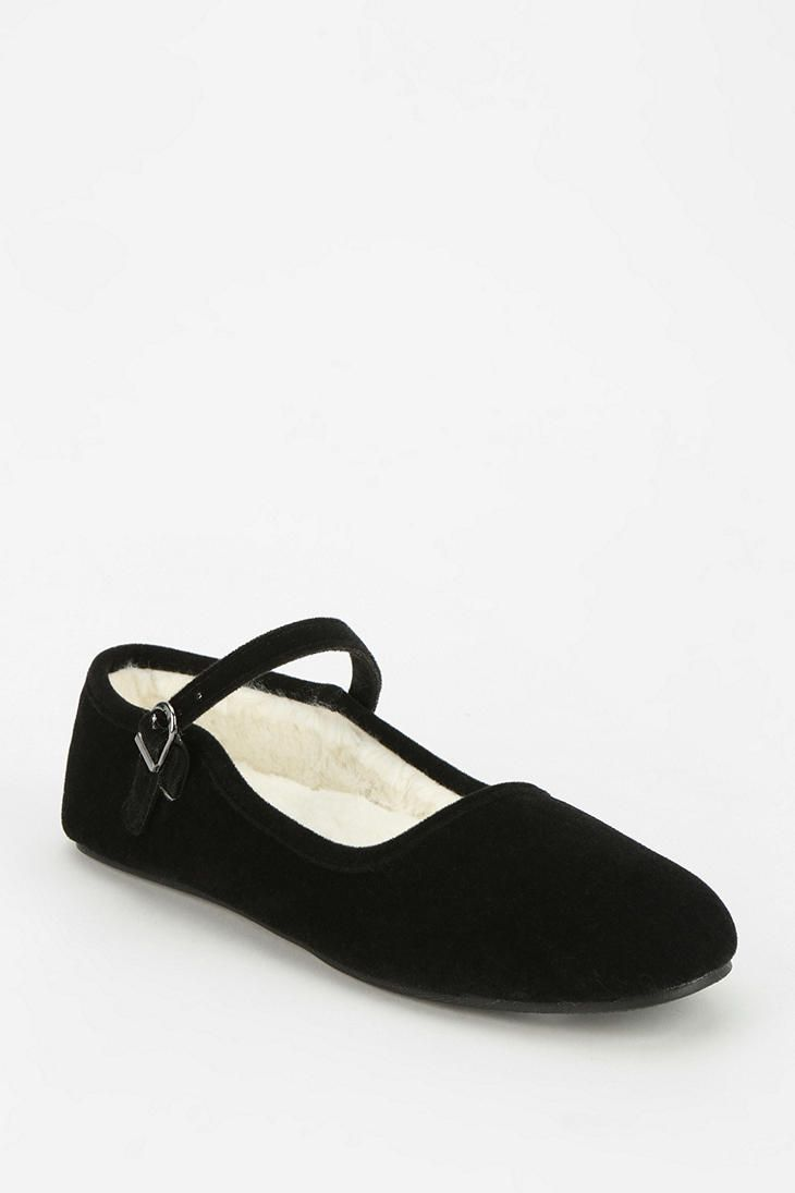 b8e8af7ff58 Velvet Mary Jane Slipper | Shoes in 2019 | Schuhe