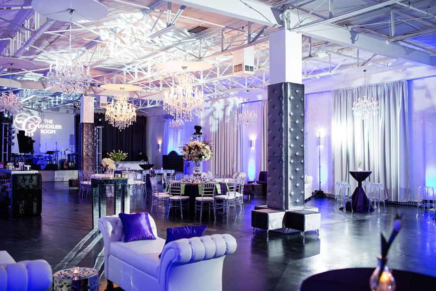 The Chandelier Room Downtown Dallas (Rates listed on