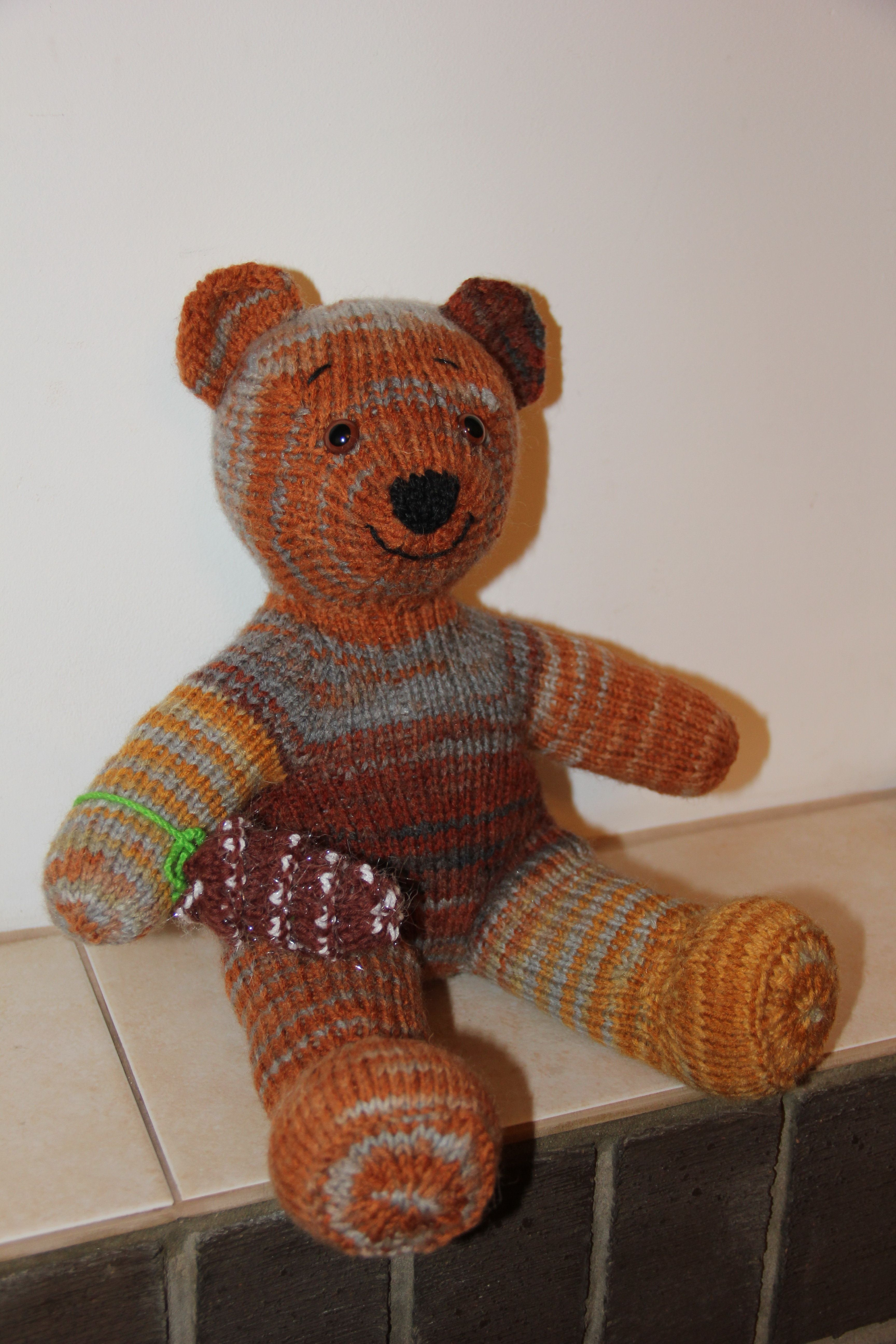 Cute Toy Teddy Bear Gift For 123 Year Old Baby Realistic Etsy Teddy Bear Gifts Bear Toy Knitted Teddy Bear