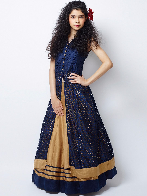Silk Gold Wedding Wear Designer Lehenga Choli. For price or details ...