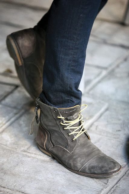 pants are not meant to be worn tucked into shoes unless you are  pants are not meant to be worn tucked into shoes unless you are horseback riding or working in mud it is a fashion statement however there is a proper