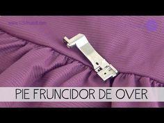En Este Video Te Mostramos Como Usar El Pie Fruncidor En Tu Over Familiar No Olvides Bajar Nuestra A Accesorios De Costura Reglas De Costura Clases De Costura